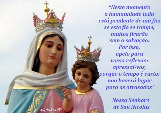 Mensagens Da Net Nossa Senhora Aparecida Recados Nossa: Bispo Argentino Proíbe A Difusão Das Mensagens De Nossa